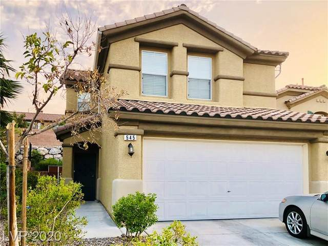 545 Uxbridge Drive, Las Vegas, NV 89178 (MLS #2225753) :: The Lindstrom Group