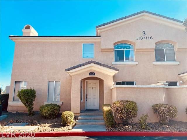 3950 Sandhill Road #116, Las Vegas, NV 89121 (MLS #2225883) :: Jeffrey Sabel