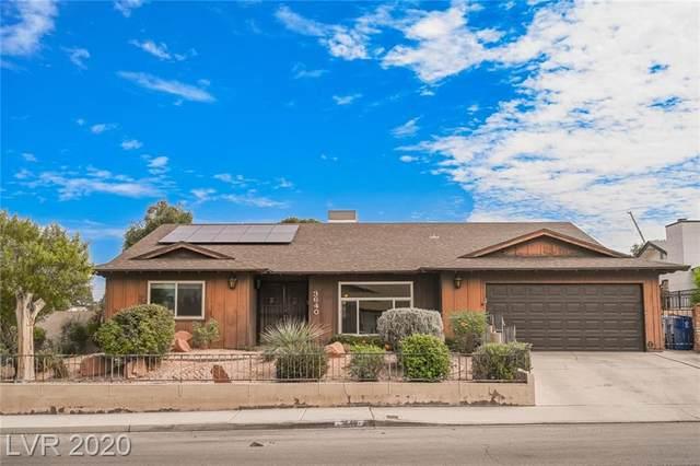 3640 Susana Street, Las Vegas, NV 89121 (MLS #2238762) :: The Lindstrom Group
