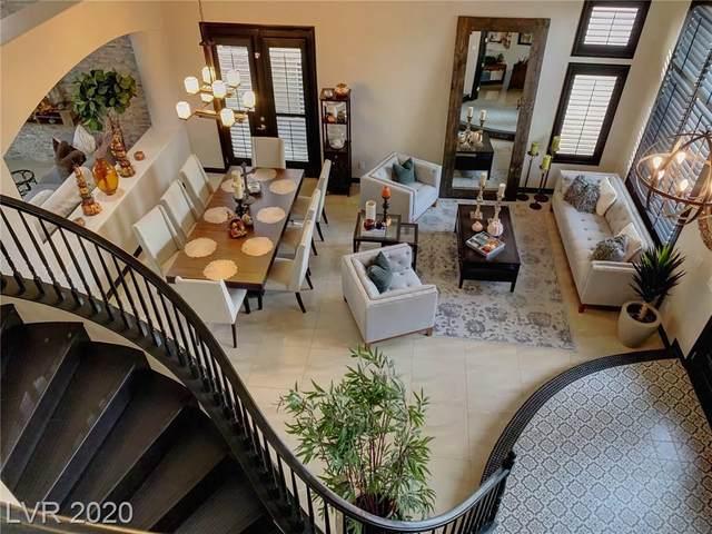 10545 Villa Modena Street, Las Vegas, NV 89141 (MLS #2248979) :: Jeffrey Sabel