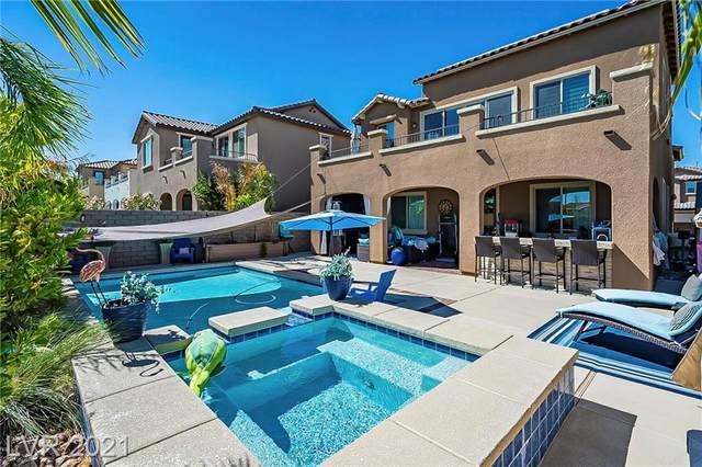 11829 Barona Mesa Avenue, Las Vegas, NV 89138 (MLS #2333804) :: The Melvin Team