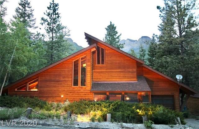 349 Alpine Way, Mount Charleston, NV 89124 (MLS #2092017) :: Signature Real Estate Group