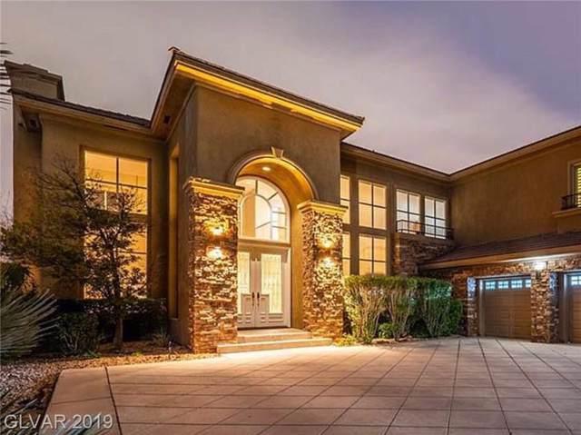 800 Petit Chalet, Las Vegas, NV 89145 (MLS #2131792) :: The Snyder Group at Keller Williams Marketplace One