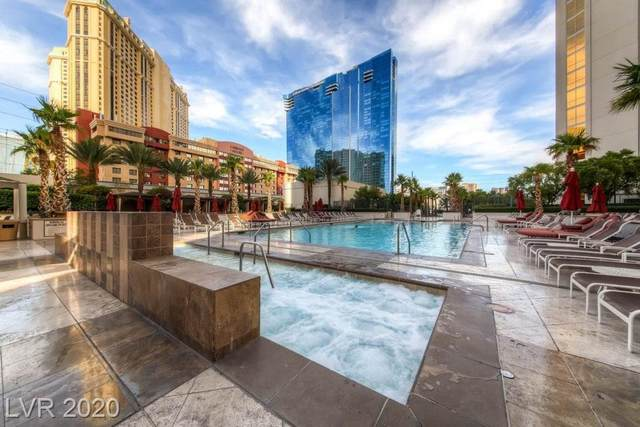 145 E Harmon Avenue #3120, Las Vegas, NV 89109 (MLS #2191664) :: The Shear Team