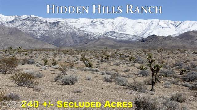 Blue Diamond (Highway 160), Las Vegas, NV 89124 (MLS #2196227) :: Lindstrom Radcliffe Group