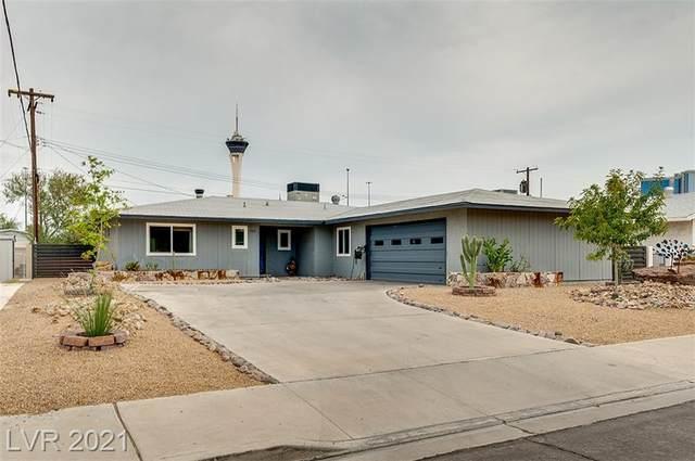 1709 Ivanhoe Way, Las Vegas, NV 89102 (MLS #2333667) :: Jeffrey Sabel