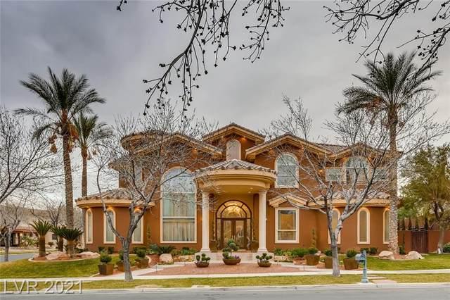 1432 Iron Hills Lane, Las Vegas, NV 89134 (MLS #2254030) :: Jeffrey Sabel