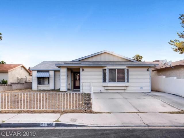 808 Sportsman, Las Vegas, NV 89107 (MLS #2095904) :: Signature Real Estate Group