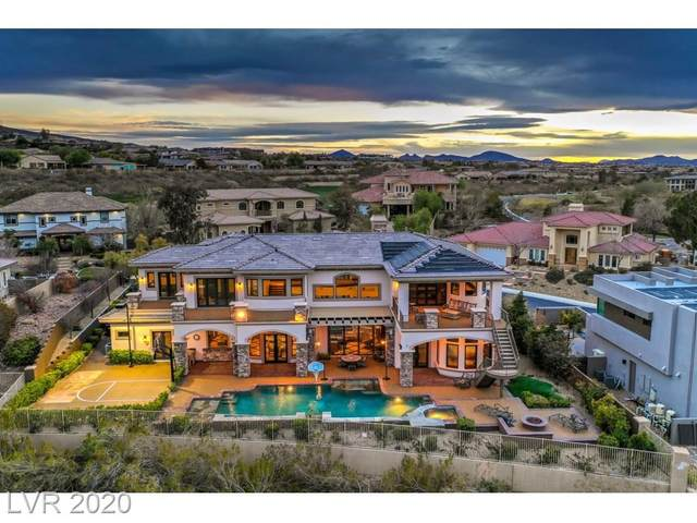 8 Paradise Valley Court, Henderson, NV 89052 (MLS #2210114) :: Team Michele Dugan