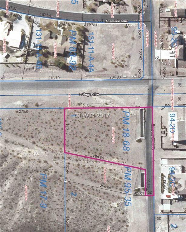 College Dr, Henderson, NV 89002 (MLS #1886685) :: The Snyder Group at Keller Williams Realty Las Vegas