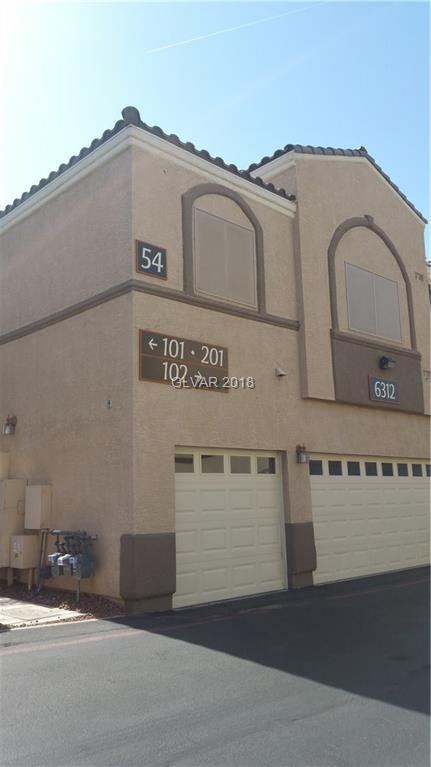 6312 Sandy Ridge #201, North Las Vegas, NV 89081 (MLS #1964013) :: Keller Williams Southern Nevada