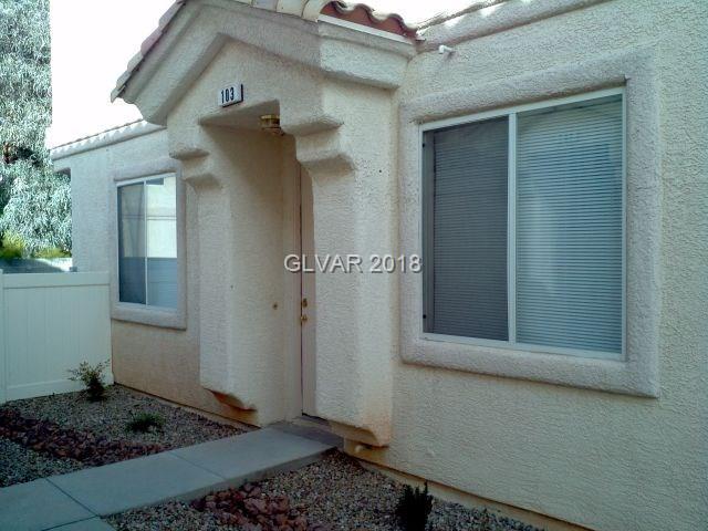 6340 Dan Blocker #103, Henderson, NV 89011 (MLS #1968847) :: The Snyder Group at Keller Williams Realty Las Vegas
