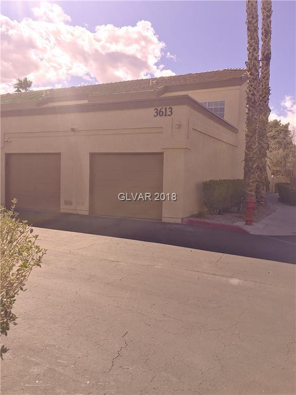3613 Shawn Reynolds #201, Las Vegas, NV 89129 (MLS #1971992) :: Sennes Squier Realty Group
