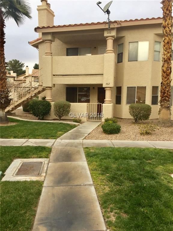 1337 Pinto Rock #102, Las Vegas, NV 89128 (MLS #1972096) :: The Snyder Group at Keller Williams Realty Las Vegas
