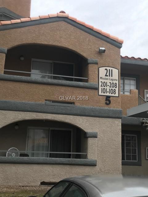 211 Mission Laguna #102, Las Vegas, NV 89107 (MLS #1975136) :: Signature Real Estate Group