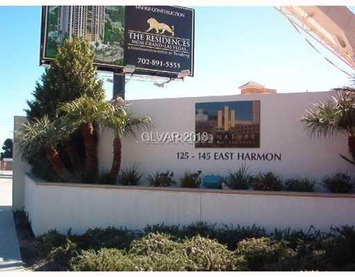 135 Harmon #2309, Las Vegas, NV 89109 (MLS #1977331) :: Keller Williams Southern Nevada