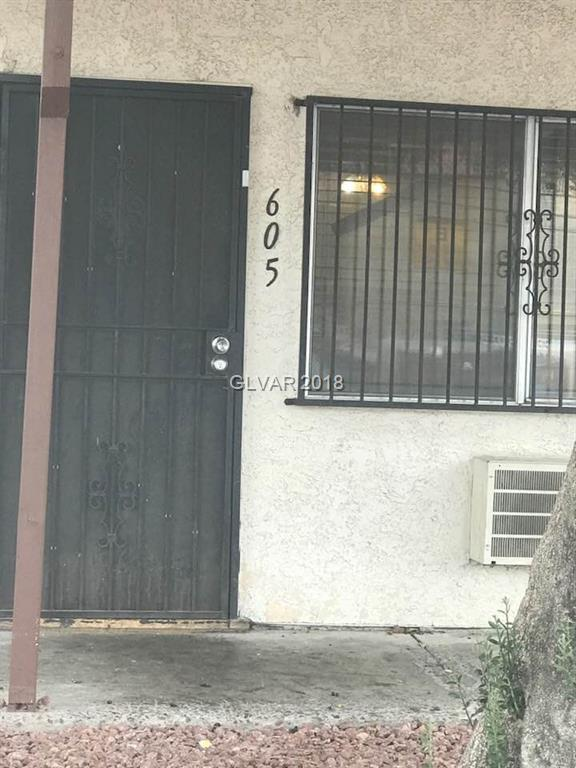 4955 Jeffreys #605, Las Vegas, NV 89119 (MLS #1978022) :: The Snyder Group at Keller Williams Realty Las Vegas