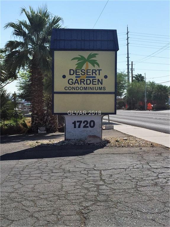 1720 W Bonanza #29, Las Vegas, NV 89106 (MLS #1981370) :: Sennes Squier Realty Group