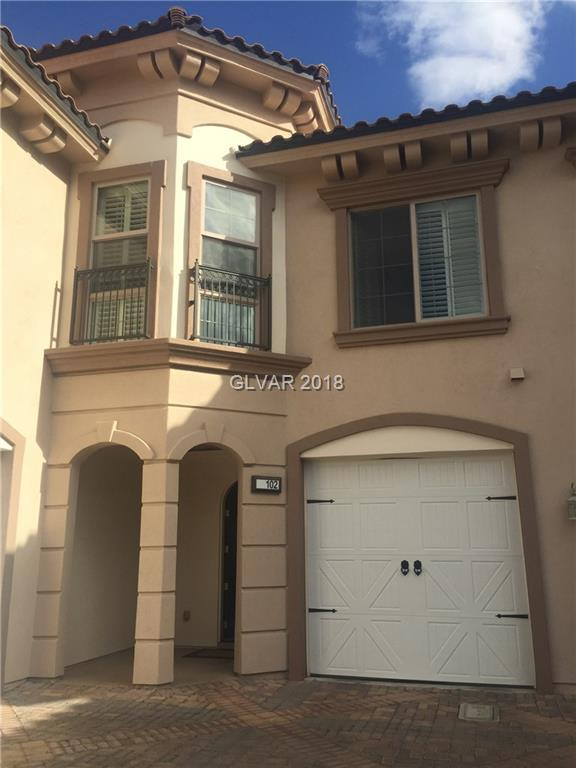 24 Via Vasari #102, Henderson, NV 89011 (MLS #2002756) :: Trish Nash Team