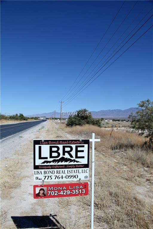 4181 S Homestead, Pahrump, NV 89048 (MLS #2004769) :: Signature Real Estate Group