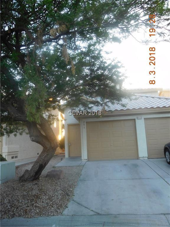 6109 Daisy Petal #201, Las Vegas, NV 89130 (MLS #2019465) :: Signature Real Estate Group