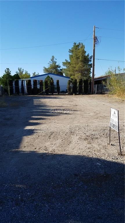 231 W Ivy, Pahrump, NV 89048 (MLS #2023510) :: The Snyder Group at Keller Williams Realty Las Vegas