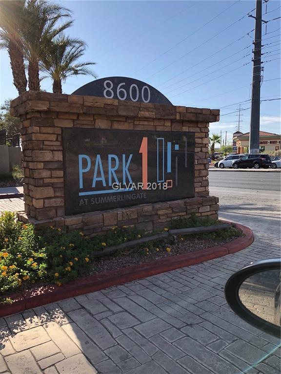 8600 Charleston #1191, Las Vegas, NV 89117 (MLS #2026172) :: The Snyder Group at Keller Williams Realty Las Vegas