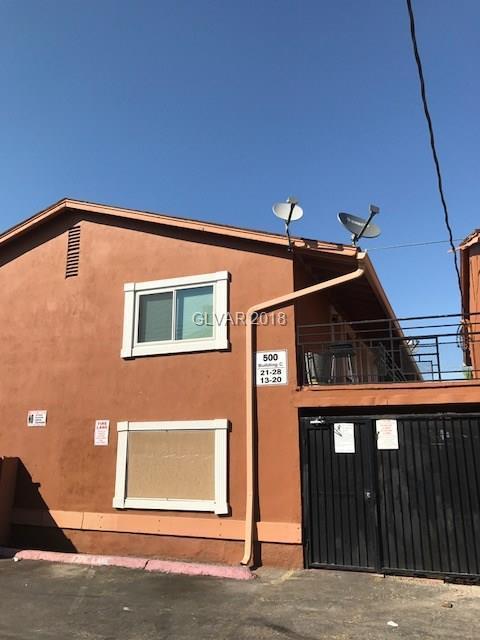 500 S 13th #28, Las Vegas, NV 89101 (MLS #2030616) :: Sennes Squier Realty Group