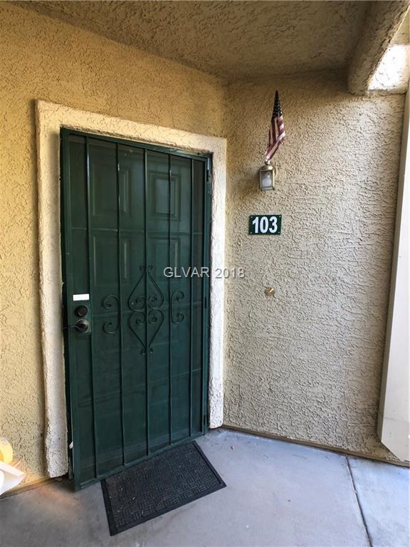 1541 Linnbaker #103, Las Vegas, NV 89110 (MLS #2031487) :: Vestuto Realty Group