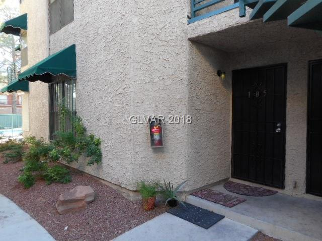 510 Elm #105, Las Vegas, NV 89169 (MLS #2040625) :: The Snyder Group at Keller Williams Realty Las Vegas