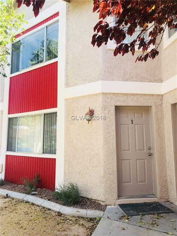 100 Crestline #1, Las Vegas, NV 89107 (MLS #2041780) :: Sennes Squier Realty Group