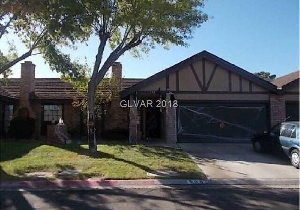 508 Fandwood, Las Vegas, NV 89107 (MLS #2045443) :: Sennes Squier Realty Group