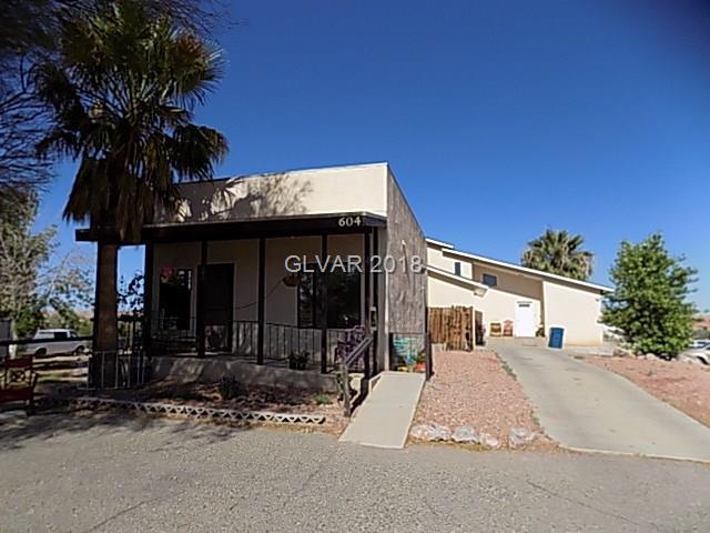 604 N Moapa Valley, Overton, NV 89040 (MLS #2050207) :: The Machat Group | Five Doors Real Estate