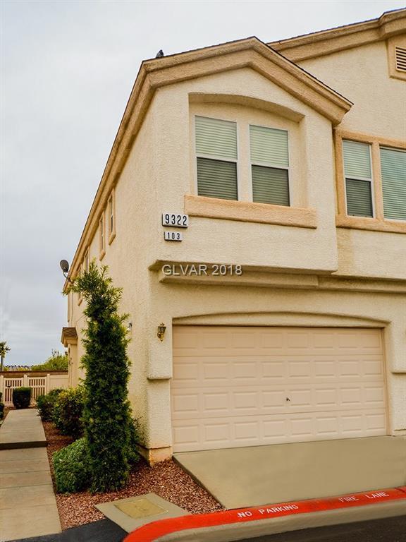 9322 Straw Hays #103, Las Vegas, NV 89178 (MLS #2053369) :: Vestuto Realty Group