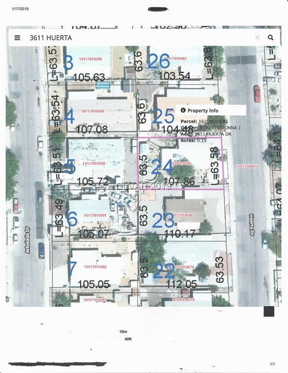 3611 Huerta, Las Vegas, NV 89121 (MLS #2062660) :: The Snyder Group at Keller Williams Marketplace One