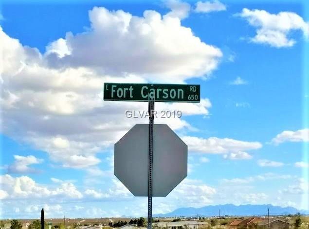 660 E Fort Carson, Pahrump, NV 89060 (MLS #2064847) :: Trish Nash Team