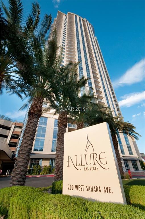 200 Sahara #2201, Las Vegas, NV 89102 (MLS #2065627) :: The Snyder Group at Keller Williams Marketplace One