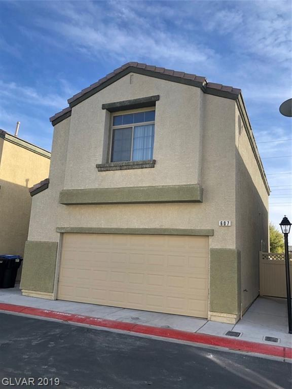 607 Desert Silk, North Las Vegas, NV 89084 (MLS #2070462) :: Five Doors Las Vegas