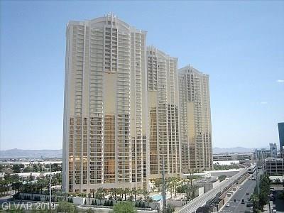 135 E Harmon #611, Las Vegas, NV 89109 (MLS #2072800) :: The Snyder Group at Keller Williams Marketplace One