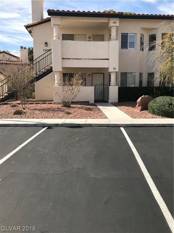 1309 Cinder Rock #102, Las Vegas, NV 89128 (MLS #2072875) :: Vestuto Realty Group
