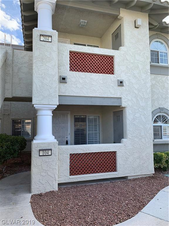 6808 Elm Creek #104, Las Vegas, NV 89108 (MLS #2080143) :: Vestuto Realty Group