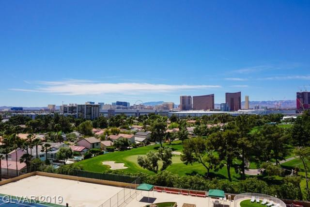 3111 Bel Air 9C, Las Vegas, NV 89109 (MLS #2089288) :: The Snyder Group at Keller Williams Marketplace One