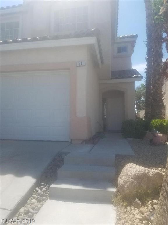 61 Tahiti, Henderson, NV 89074 (MLS #2107361) :: The Snyder Group at Keller Williams Marketplace One