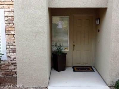 820 Peachy Canyon #101, Las Vegas, NV 89144 (MLS #2136301) :: Capstone Real Estate Network