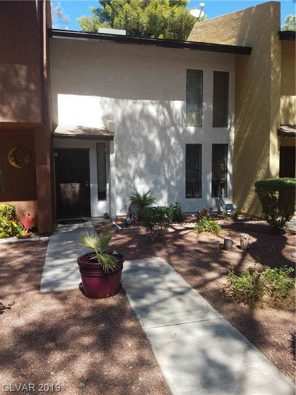 170 Bel Port #173, Las Vegas, NV 89110 (MLS #2137232) :: Signature Real Estate Group