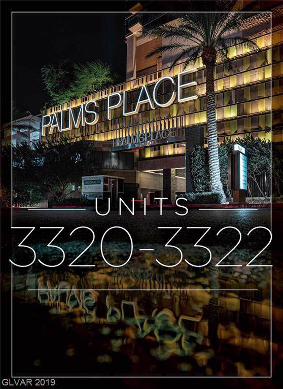 4381 Flamingo 3322/3320, Las Vegas, NV 89103 (MLS #2139153) :: The Snyder Group at Keller Williams Marketplace One