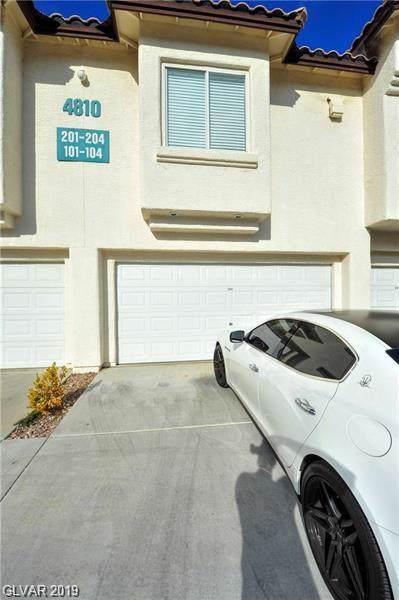 4810 Black Bear #204, Las Vegas, NV 89149 (MLS #2142859) :: Hebert Group | Realty One Group