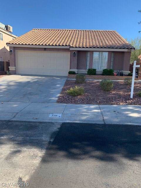736 Rusty Spur, Henderson, NV 89014 (MLS #2150308) :: Signature Real Estate Group
