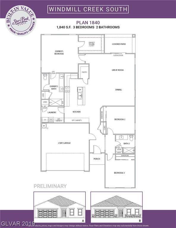 8683 Royal Dutch Lot 3, Las Vegas, NV 89148 (MLS #2151659) :: Signature Real Estate Group
