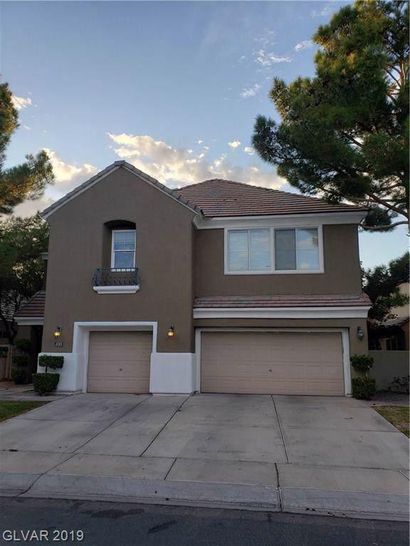 1013 Windfair Village, Las Vegas, NV 89107 (MLS #2153750) :: The Snyder Group at Keller Williams Marketplace One